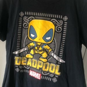 Marvel Collector Corps Deadpool Funko POP T-Shirt